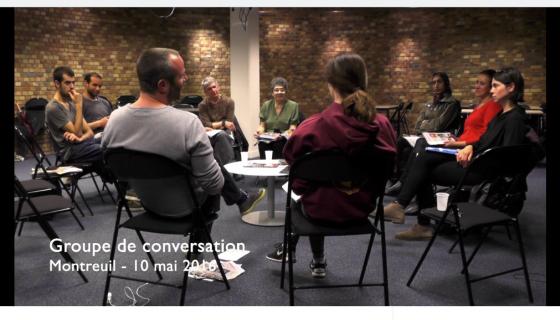 1migrant en bib atelier de conversation montreuil
