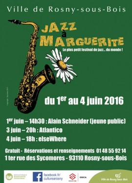 INVITATION JAZZ à MARGUERITE 2016