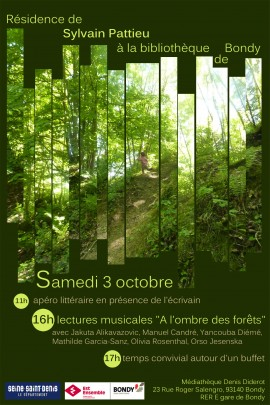 flyer 3 octobre bondy recto